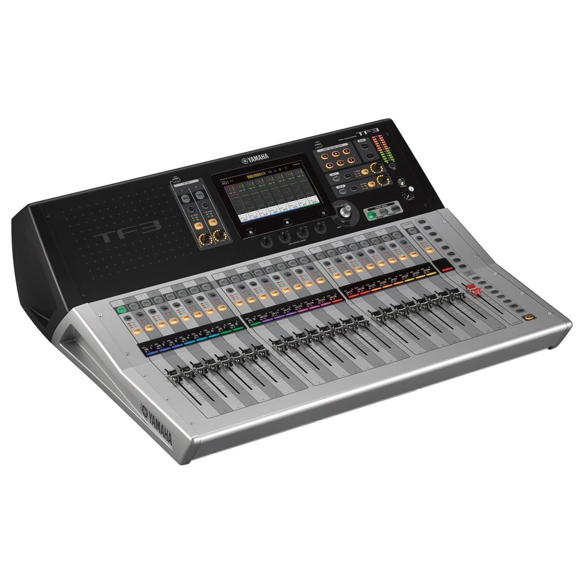 yamaha touchflow tf3 24 channel digital mixer at