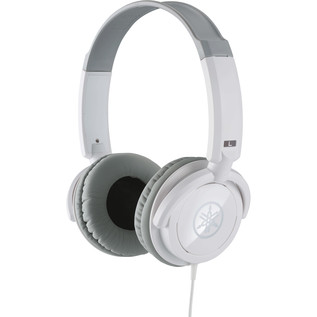Yamaha HPH-100 Headphones, White