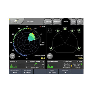 TC Electronic Clarity X Multi-Format Monitoring System 6