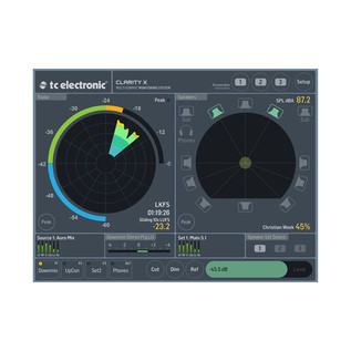 TC Electronic Clarity X Multi-Format Monitoring System 7