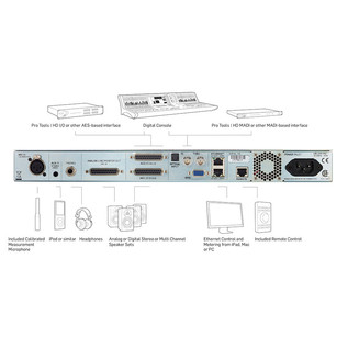 TC Electronic Clarity X Multi-Format Monitoring System 9