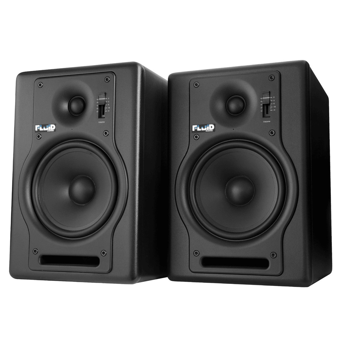 fluid audio f5 active studio monitors pair nearly new at. Black Bedroom Furniture Sets. Home Design Ideas