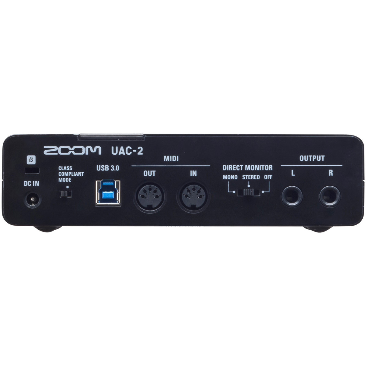 zoom uac 2 2 in 2 out usb 3 0 audio interface at. Black Bedroom Furniture Sets. Home Design Ideas