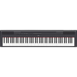 Yamaha P-115 Digital Piano, Black