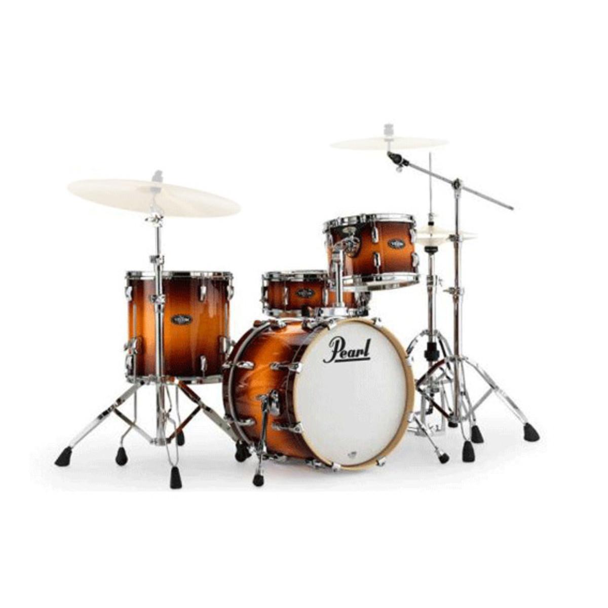 pearl vision vbl bop kit drum kit vintage tobacco burst at. Black Bedroom Furniture Sets. Home Design Ideas