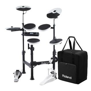 Roland TD-4KP V-Drums Portable Electronic Drum Kit + Carry Case