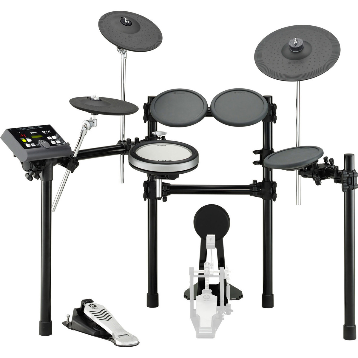 yamaha dtx522k electronic drum kit at