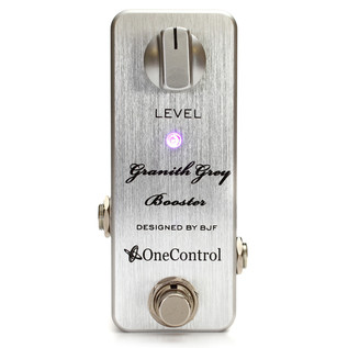 One Control Granith Grey Booster Guitar Pedal