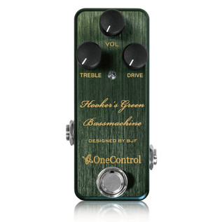 One Control Hookers Green Bassmachine Bass Distortion Pedal