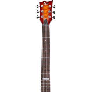 ESP LTD EC-100QM Electric Guitar, Neck