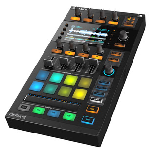 Native Instruments Traktor Kontrol D2 Controller with Visual Display