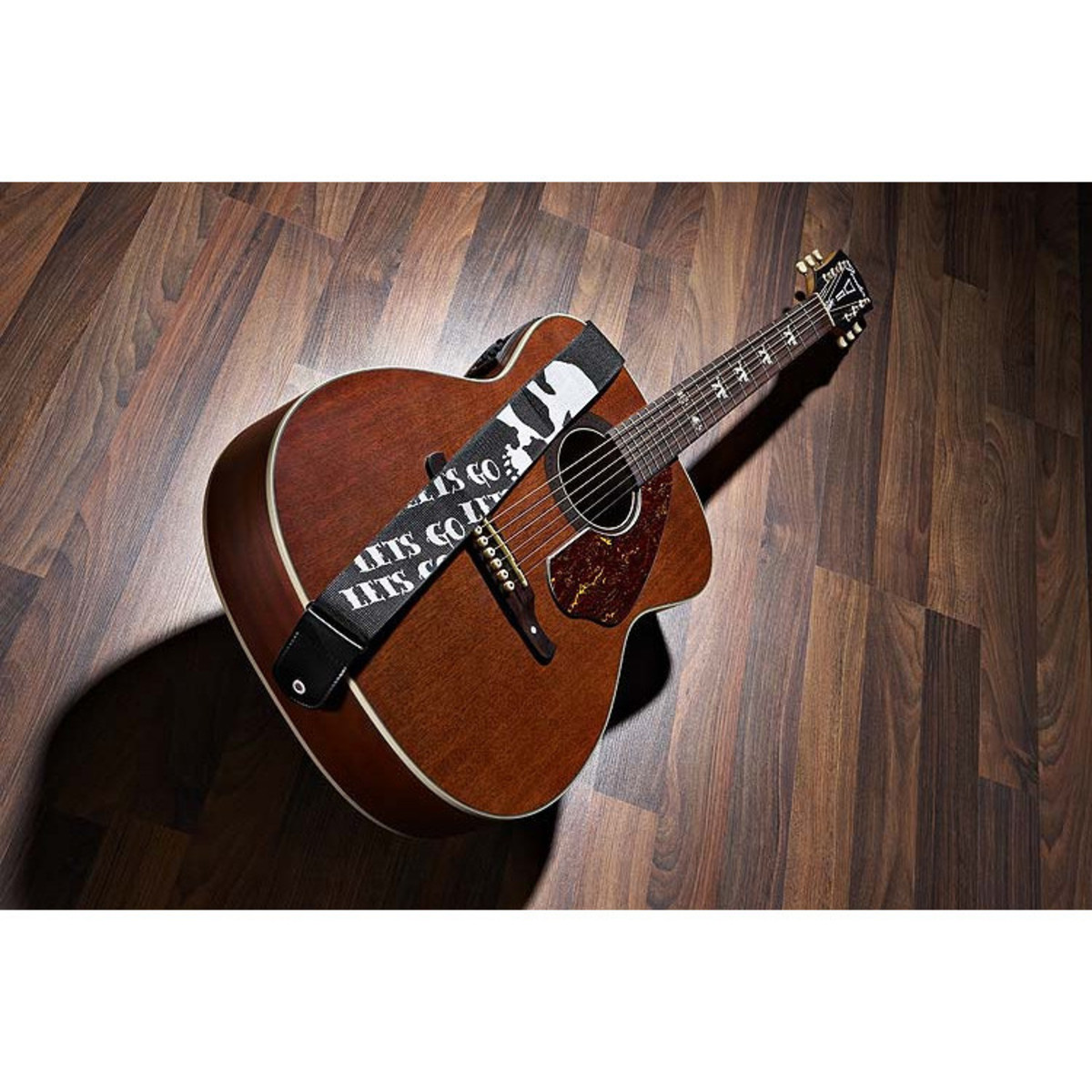 fender tim armstrong hellcat electro acoustic guitar nearly new at. Black Bedroom Furniture Sets. Home Design Ideas