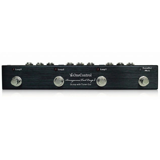 One Control Xenagama Tail Loop 3 Channel Switcher with Tuner Mute