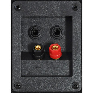 QTX QT8 Passive PA Speaker, Rear Connectors