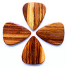 Timber Tones Pale Moon Ebony Guitar Pick, Players Pack of 4