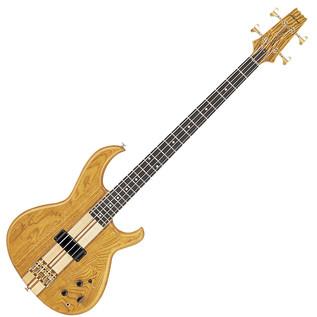 Aria SB1000 Reissue Electric Bass Guitar, Oak