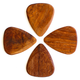 Timber Tones Mimosa Guitar Pick, Players Pack of 4