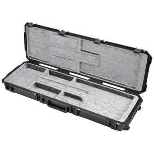 SKB Waterproof ATA Open Cavity Bass Guitar Case, with Wheels
