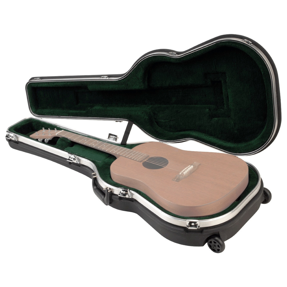 Guitar Cases With Wheels : disc skb roto molded ata acoustic guitar hardshell case with wheels at ~ Russianpoet.info Haus und Dekorationen