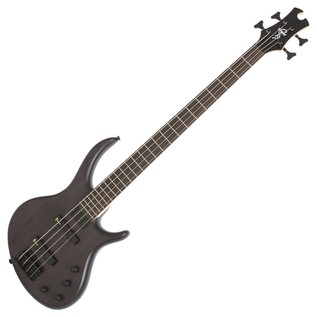 Epiphone Toby Deluxe IV Bass Guitar, Trans Black