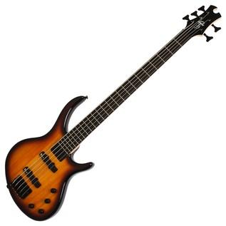Epiphone Toby Deluxe V Bass Guitar, Vintage Sunburst