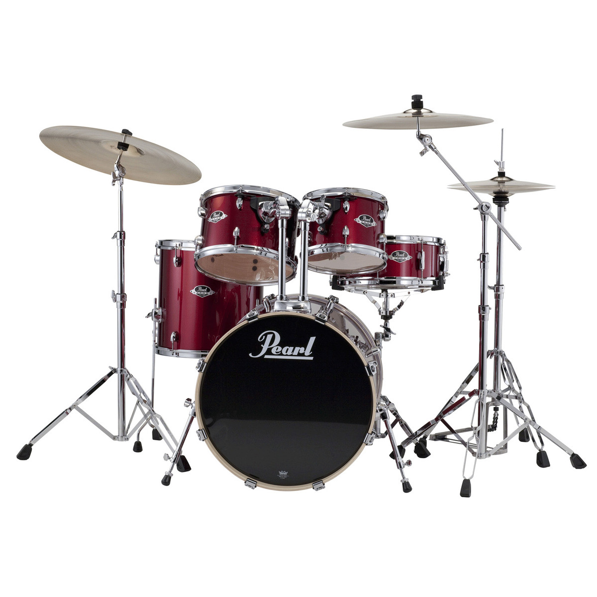 disc pearl export exx 20 39 39 fusion drum kit red wine at. Black Bedroom Furniture Sets. Home Design Ideas
