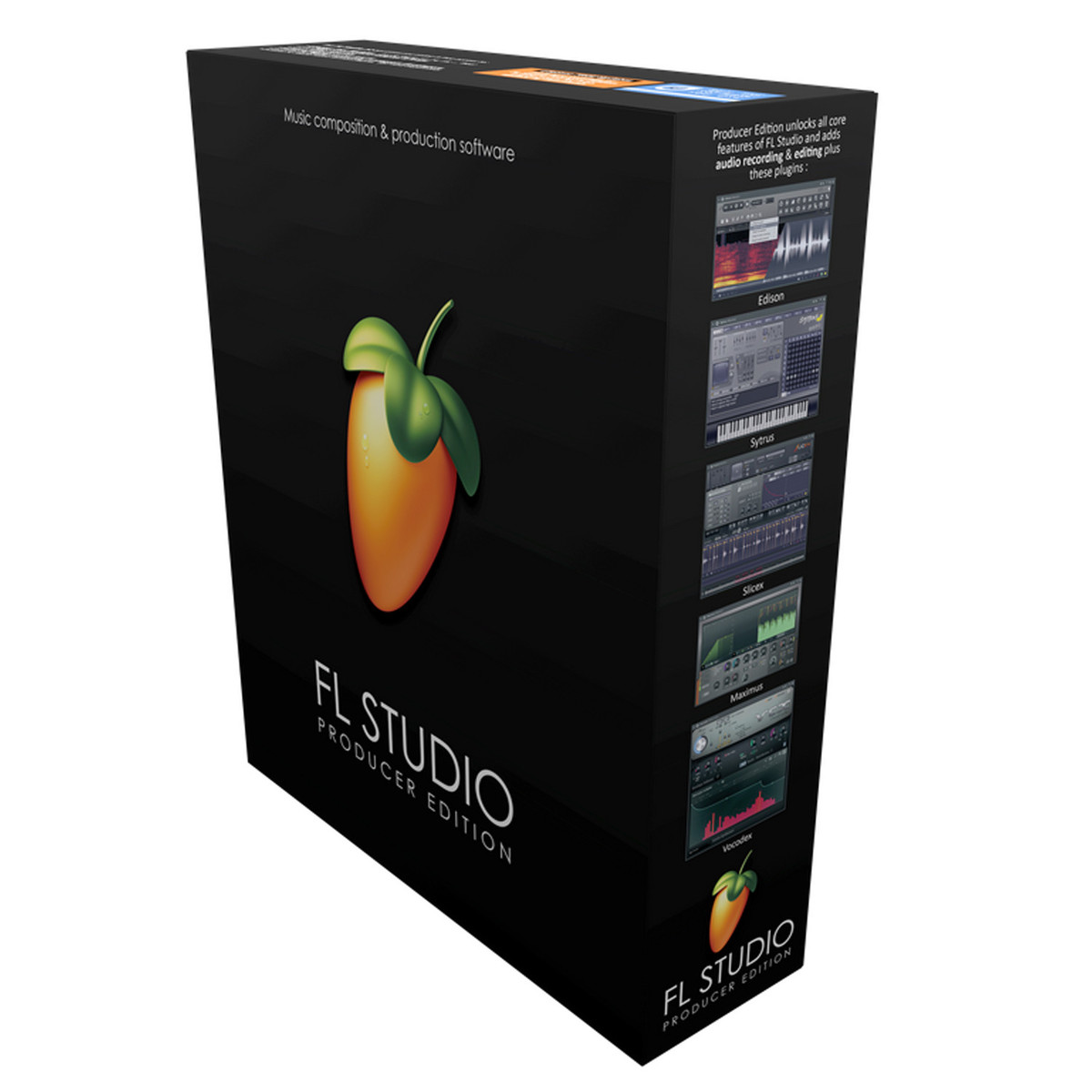 Image of FL Studio 12 Producer Edition Sequencer and Loop Generator