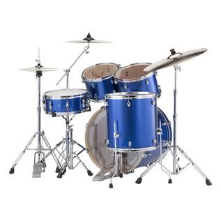 Pearl Export EXX 22'' Rock Drum Kit, Blue Sparkle