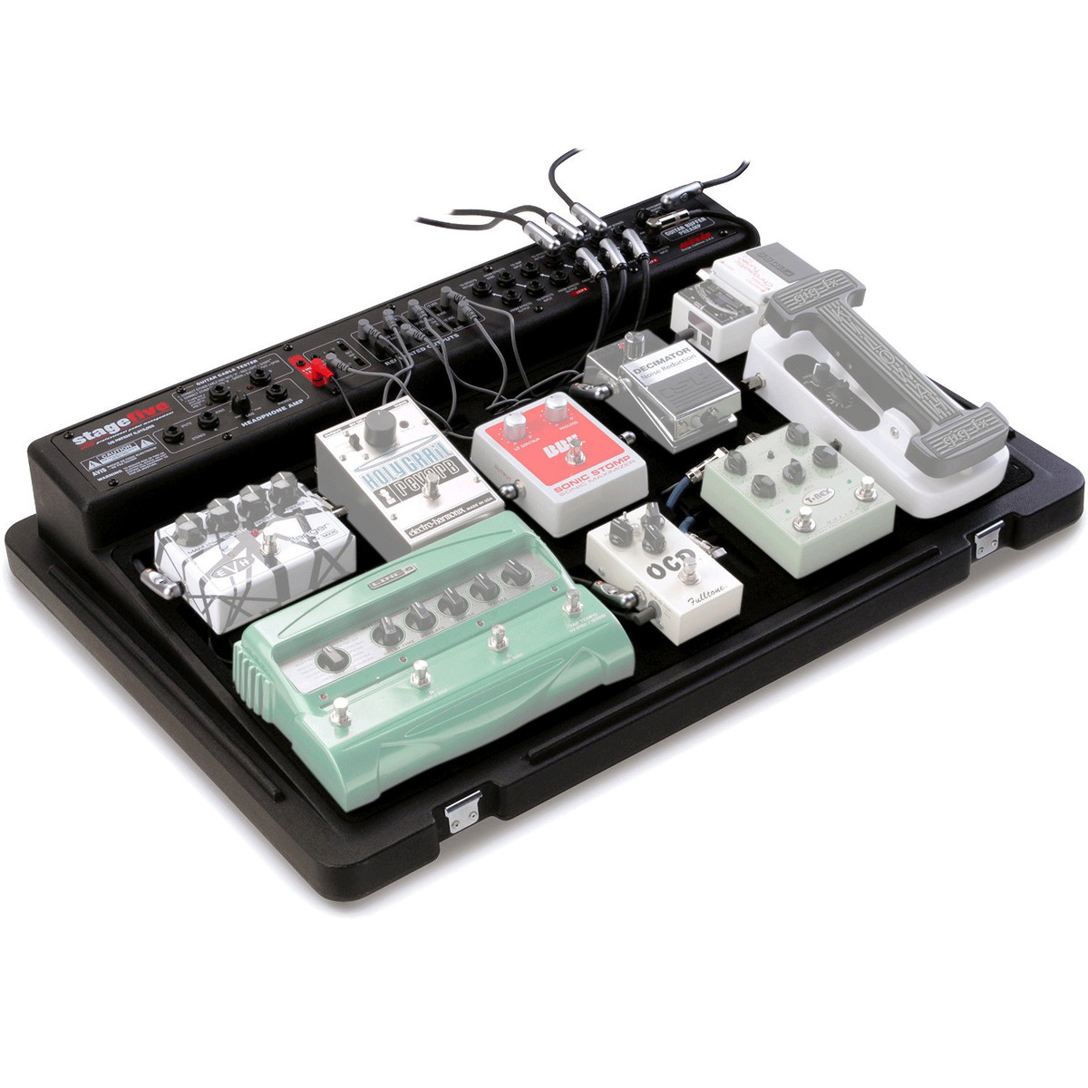 skb stagefive professional pedal board system uk power supply at. Black Bedroom Furniture Sets. Home Design Ideas