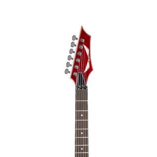 Dean Custom 350F Floyd Rose Electric Guitar, Trans Red