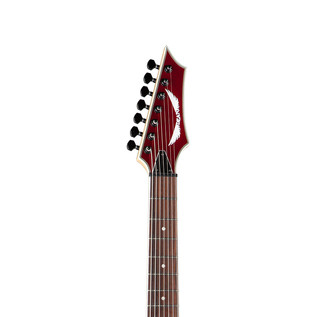 Dean Custom 750X 7 String Electric Guitar, Metallic Red