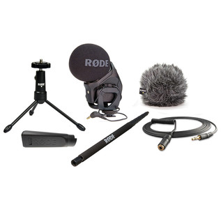 Rode Stereo VideoMic Pro Complete DSLR Microphone Pack