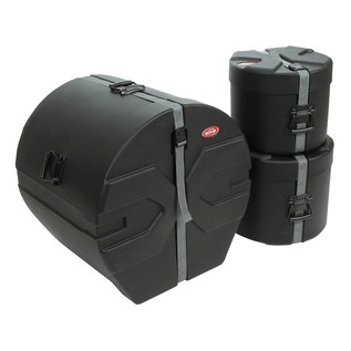 SKB Drum Case Package 3 with Padded Interior