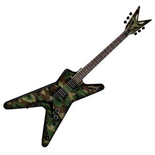 Dean Dimebag Dime Camo ML Electric Guitar, Camouflage Graphic