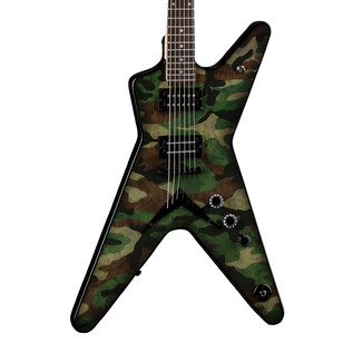 Dean Dimebag Dime Camo ML Electric Guitar, Camouflage Graphic