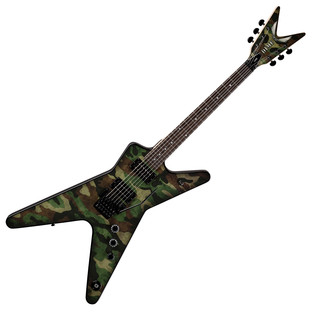 Dean Dimebag Dime Camo Floyd ML Electric Guitar, Camouflage Graphic