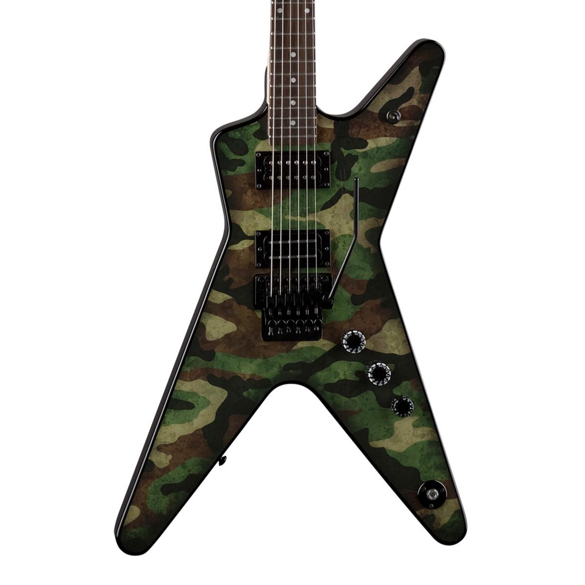 dimebag darrell guitar camo - photo #4