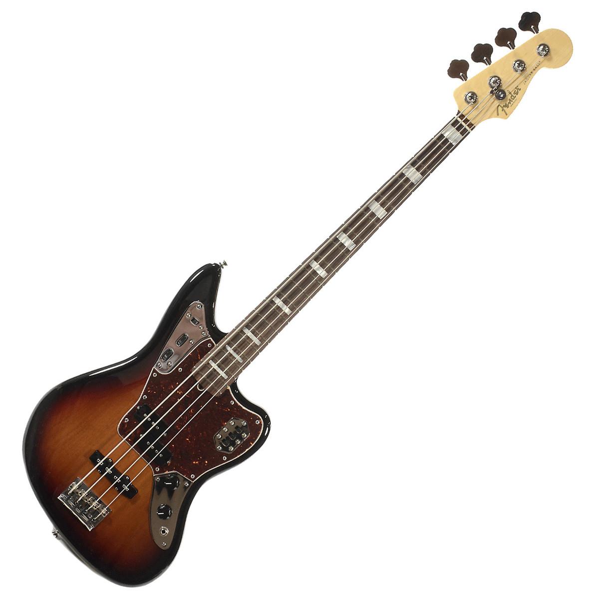 fender american standard jaguar bass tastiera rw 3 color sunburst a. Black Bedroom Furniture Sets. Home Design Ideas