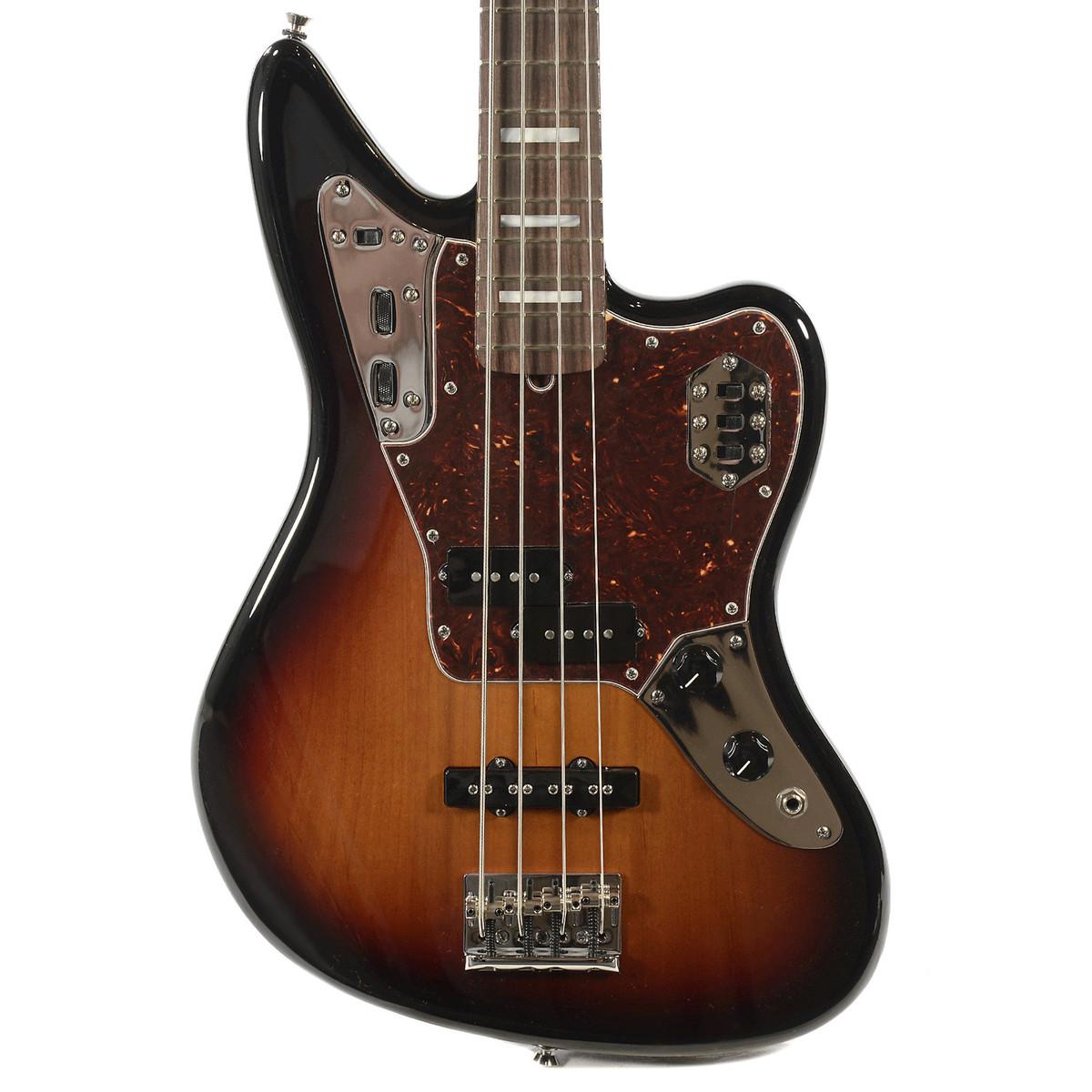 fender american standard jaguar bass rw fretboard 3 color sunburst at. Black Bedroom Furniture Sets. Home Design Ideas