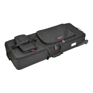 SKB 61-Key Arranger Keyboard Soft Case with Wheels