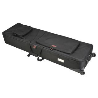 SKB 88-Key Narrow Keyboard Soft Case with Wheels