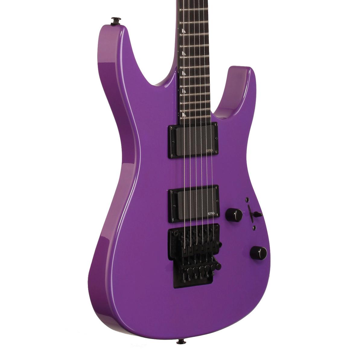 Dean Jacky Vincent C450F Electric Guitar, Purple at ...