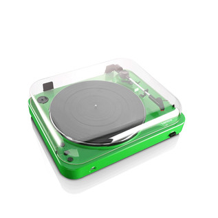 Lenco L-85 Turntable with USB Direct Recording, Green
