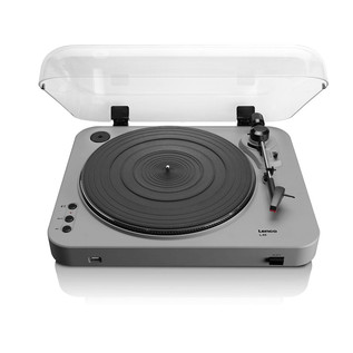 Lenco L-85 Turntable with USB Direct Recording, Grey