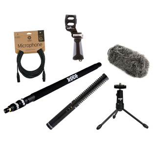 Rode NTG1 Location Recording Bundle