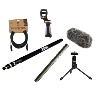 Rode NTG2 Location Recording Bundle