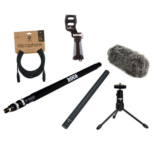 Rode NTG3 Location Recording Bundle