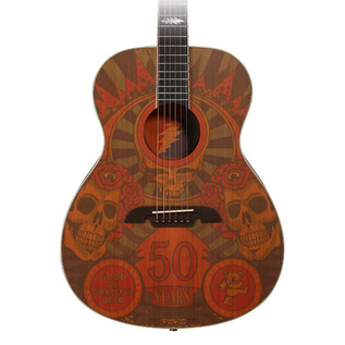Alvarez Grateful Dead 50th Anniversary Acoustic Guitar, Montage