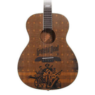 Alvarez Grateful Dead 50th Anniversary Acoustic Guitar, Flag