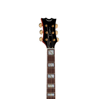 Dean Palomino Flame Top Hollowbody Guitar, Honey Sunburst